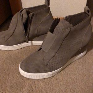 Shoes - Wedge Sneakers!